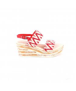 Sandale à talon compensée RIVKA