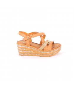 Sandale compensé ROSA