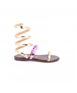 Sandale plate GALDYS
