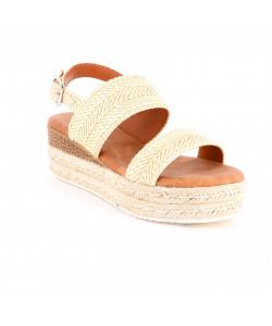 Sandale compensé CARALINE