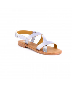 Sandale plate LINDA