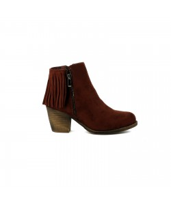 Bottines santiag JACINTHE Marron
