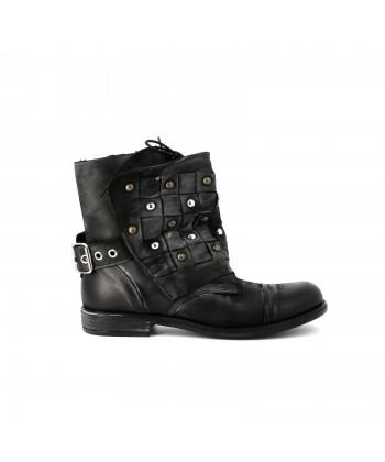 Ilario Ferucci Bottines cuir GINOLA Bordeaux - Livraison Gratuite avec  - Chaussures Bottine Femme