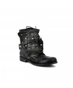 Bottines cuir GERRY Noir