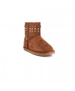 Boots nubuck EPHISE Camel