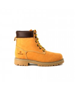 Boots montantes CARLINE Camel