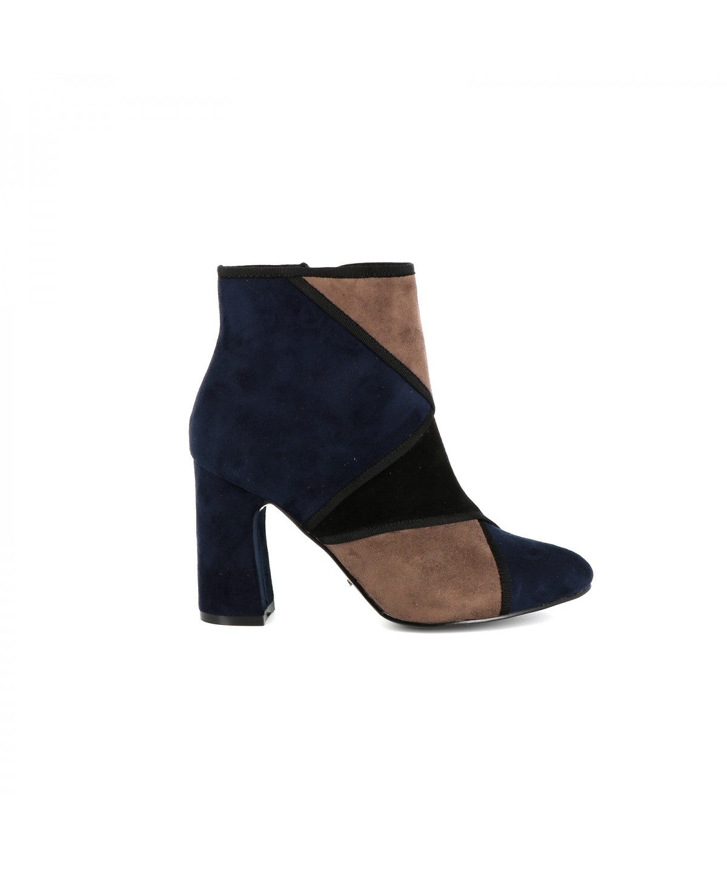 Playa Collection Bottine suédine CANUS Taupe - Livraison Gratuite avec  - Chaussures Bottine Femme
