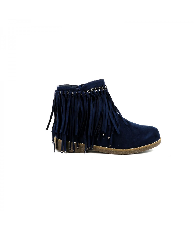 recherche de liquidation toujours populaire meilleure qualité Bottines à franges Jovany - Chaussures femme - Cassis Côte D ...