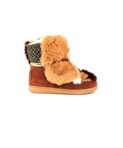 Boots fourrées SANTAL Camel