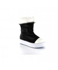 Boots fourrées ABBY Noir