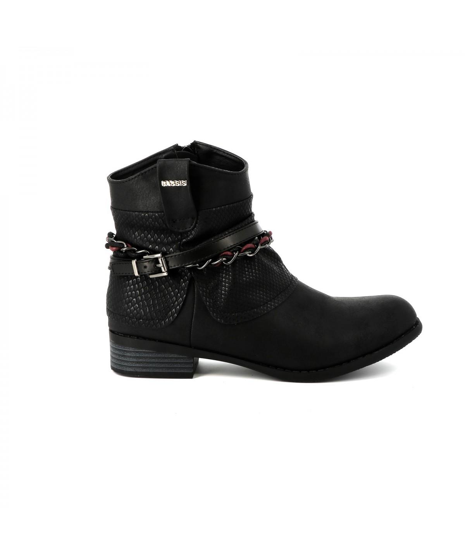 Boots, Bottines Cassis cote d'azur Bottine Lassie Noir
