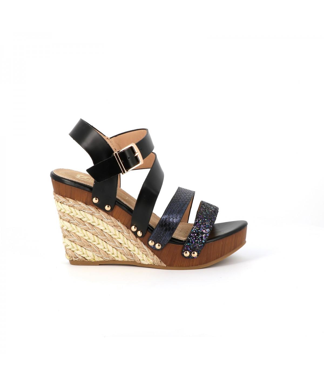 403ce29559d Sandales plateformes Bacopa - Chaussures Femme - Cassis Côte d Azur