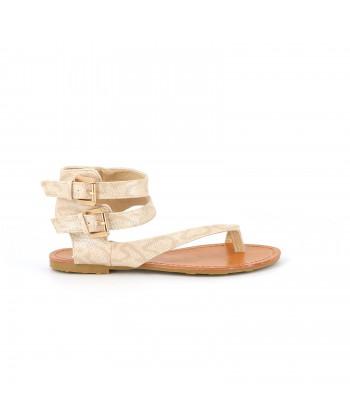 Sandales plates QUICKSY