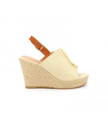 Sandale plateforme BAGNERA
