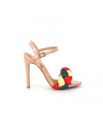 Sandale aiguille vernie CILANTA