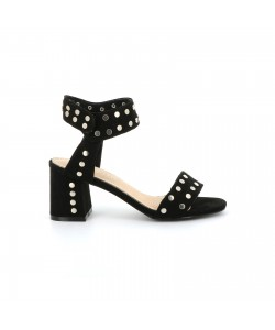 Sandale cloutée SLOMANI noire