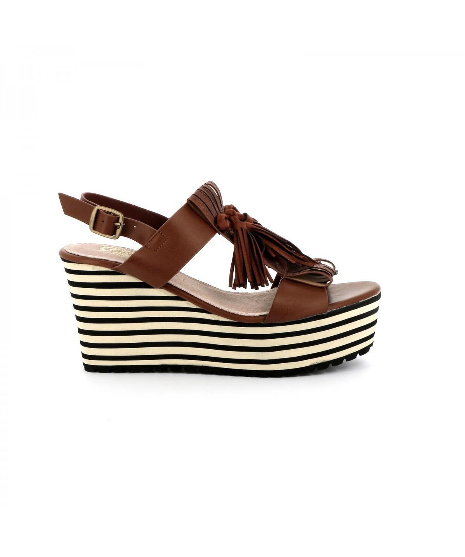 sandale plateforme tentation chaussures femme cassis. Black Bedroom Furniture Sets. Home Design Ideas