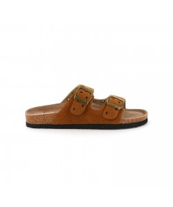 Mule fashion PRIMO camel