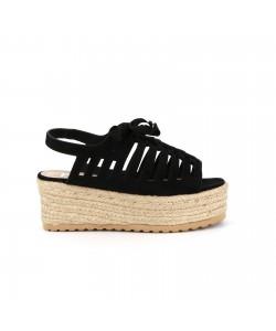 Sandale spartiate ARIS noir