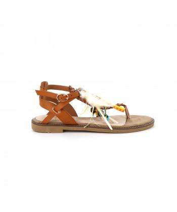 Sandale ethnique AVIA camel