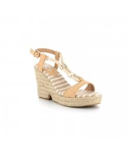 Sandale sabot LOLANNA beige
