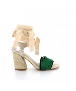 Sandale sexy glam LYWENN beige