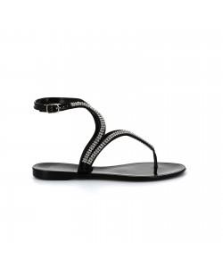 Sandales strass UBALO noir