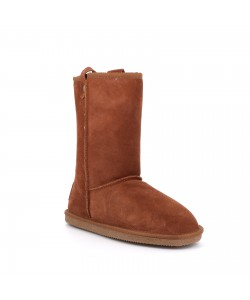 Boots nubuck camel ELMIE