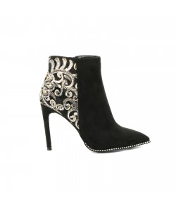 Bottines pointues EVAELLE noires