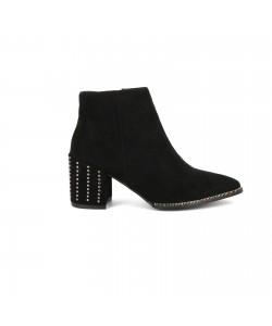 Bottines pointues EWA noires