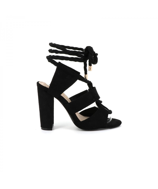 Don Femme Sandale Lacet Cassis D'azur Cote Chaussure À wnP0ZN8OXk