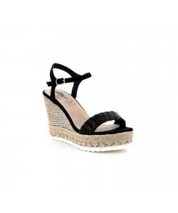 Sandale compensée imprimé CASSANDRA