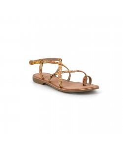 Sandale multi bride en cuir OLWEN
